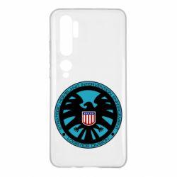 Чохол для Xiaomi Mi Note 10 Логотип Щита