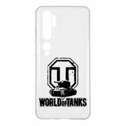 Чехол для Xiaomi Mi Note 10 Логотип World Of Tanks