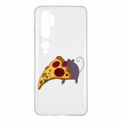 Чехол для Xiaomi Mi Note 10 Love Pizza 2