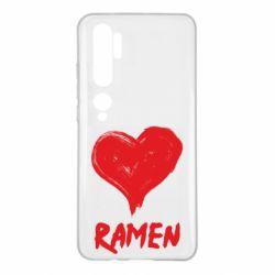 Чохол для Xiaomi Mi Note 10 Love ramen