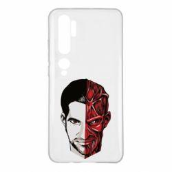 Чехол для Xiaomi Mi Note 10 Lucifer the man and the devil