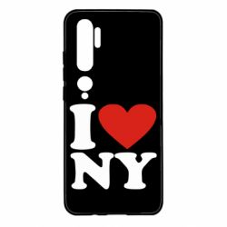 Чохол для Xiaomi Mi Note 10 Люблю Нью Йорк