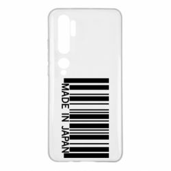 Чехол для Xiaomi Mi Note 10 Made in japan