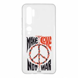 Чехол для Xiaomi Mi Note 10 Make love, not war
