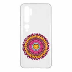 Чехол для Xiaomi Mi Note 10 Mandala Cats