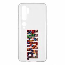 Чехол для Xiaomi Mi Note 10 Marvel comics and heroes