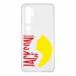 Чехол для Xiaomi Mi Note 10 Майкл Джексон