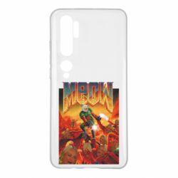 Чехол для Xiaomi Mi Note 10 Meow Doom