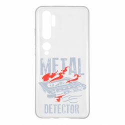 Чохол для Xiaomi Mi Note 10 Metal detector