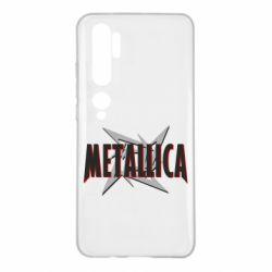 Чехол для Xiaomi Mi Note 10 Metallica Logo