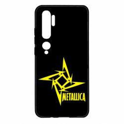 Чохол для Xiaomi Mi Note 10 Логотип Metallica