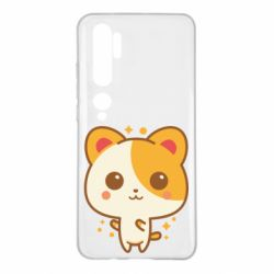 Чехол для Xiaomi Mi Note 10 Милая кися