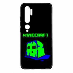 Чехол для Xiaomi Mi Note 10 Minecraft Head