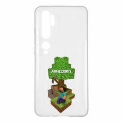 Чохол для Xiaomi Mi Note 10 Minecraft Steve