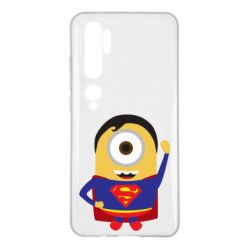 Чохол для Xiaomi Mi Note 10 Minion Superman