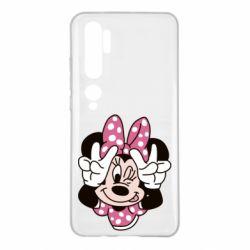 Чехол для Xiaomi Mi Note 10 Minnie Mouse
