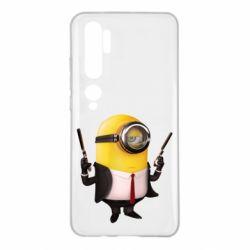 Чехол для Xiaomi Mi Note 10 Миньон Хитман