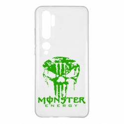 Чохол для Xiaomi Mi Note 10 Monster Energy Череп