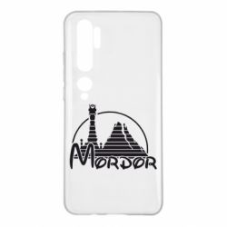 Чехол для Xiaomi Mi Note 10 Mordor (Властелин Колец)