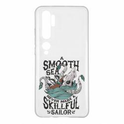 Чехол для Xiaomi Mi Note 10 Морское чудовище Кракен