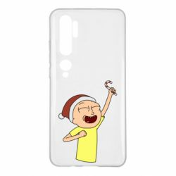 Чехол для Xiaomi Mi Note 10 Morty with Christmas candy