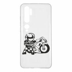 Чехол для Xiaomi Mi Note 10 Мотоциклист