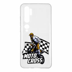 Чехол для Xiaomi Mi Note 10 Motocross