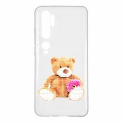 Чохол для Xiaomi Mi Note 10 М'який ведмедик