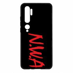 Чехол для Xiaomi Mi Note 10 N.W.A Logo