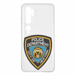 Чохол для Xiaomi Mi Note 10 New York Police Department
