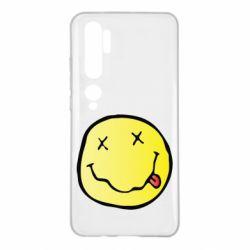 Чохол для Xiaomi Mi Note 10 Nirvana Logo 3D