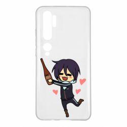 Чехол для Xiaomi Mi Note 10 Noragami and drink