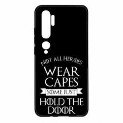 Чехол для Xiaomi Mi Note 10 Not all heroes wear capes
