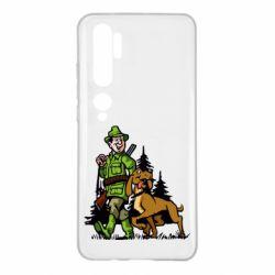 Чохол для Xiaomi Mi Note 10 Мисливець з собакою