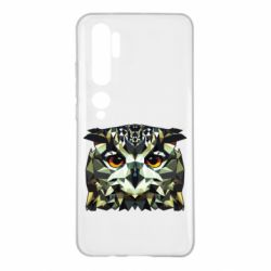 Чехол для Xiaomi Mi Note 10 Owl Vector