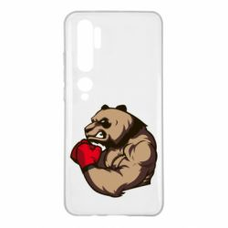 Чехол для Xiaomi Mi Note 10 Panda Boxing