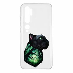 Чохол для Xiaomi Mi Note 10 Panther and Forest