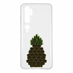 Чехол для Xiaomi Mi Note 10 Pineapple cat