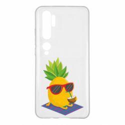 Чехол для Xiaomi Mi Note 10 Pineapple with coconut