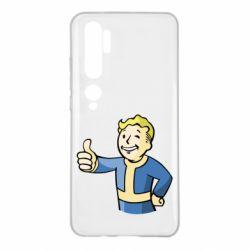 Чехол для Xiaomi Mi Note 10 Pip boy fallout