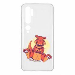 Чехол для Xiaomi Mi Note 10 Playing dinosaur