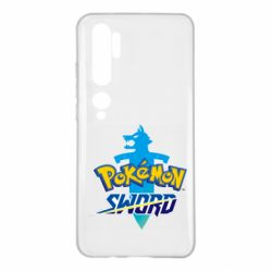 Чехол для Xiaomi Mi Note 10 Pokemon sword