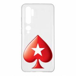 Чохол для Xiaomi Mi Note 10 Poker Stars 3D Logo