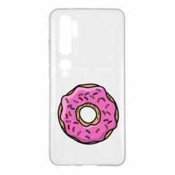 Чехол для Xiaomi Mi Note 10 Пончик Гомера