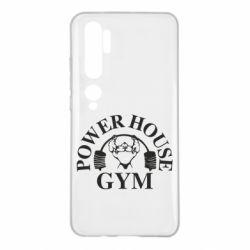 Чехол для Xiaomi Mi Note 10 Power House Gym