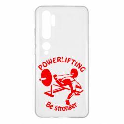 Чехол для Xiaomi Mi Note 10 Powerlifting be Stronger