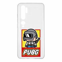Чехол для Xiaomi Mi Note 10 PUBG LEGO