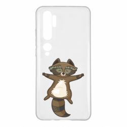 Чехол для Xiaomi Mi Note 10 Raccoon