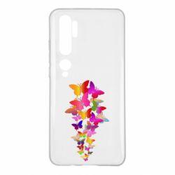 Чохол для Xiaomi Mi Note 10 Rainbow butterflies
