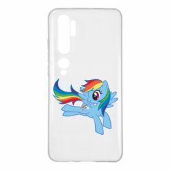 Чохол для Xiaomi Mi Note 10 Rainbow Dash run